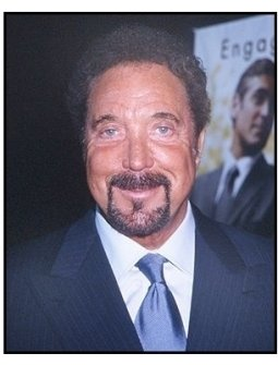 "Tom Jones at the ""Intolerable Cruelty"" premiere"