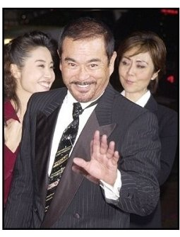 "Sonny Chiba at the ""Kill Bill Vol. 1"" premiere"