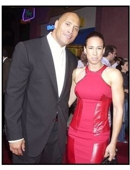 """The Rock, aka Dwayne Johnson and wife Dany at """"The Rundown"""" premiere"""