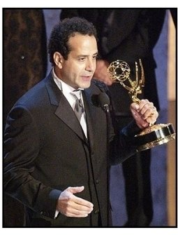 "Tony Shalhoub accepts the Outstanding Lead Actor in a Comedy Series award for ""Monk"" at The 55th Annual Primetime Emmy Awards"