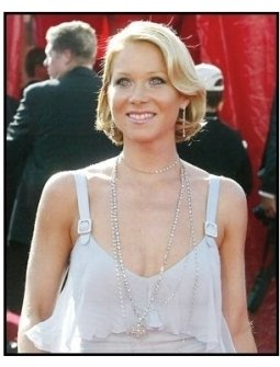 Christina Applegate on the red carpet at the 2003 Emmy Awards