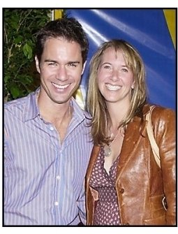 "Eric McCormack and wife Janet Holden at the Los Angleles premiere of Cirque Du Soleil's latest production ""Varekai"""