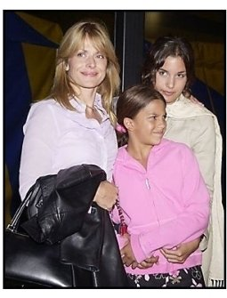"Natassja Kinski and daughters at the Los Angleles premiere of Cirque Du Soleil's latest production ""Varekai"""