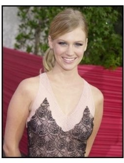 "January Jones at the ""American Wedding"" premiere"