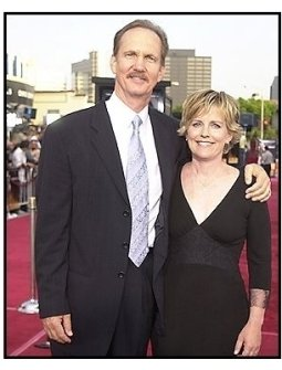 "Michael O'Neill and date at the ""Seabiscuit"" premiere"