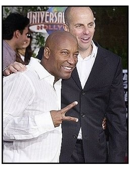 """John Singleton with producer Neal Moritz  at the """"2 Fast 2 Furious"""" Premiere"""