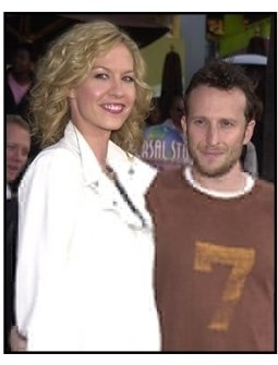 """Jenna and Bodhi Elfman at the """"Bruce Almighty"""" premiere"""