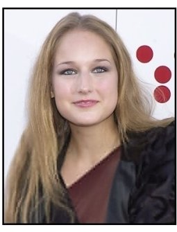 Leelee Sobieski at the 2003  Young Hollywood Awards