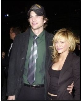 "Ashton Kutcher and Brittany Murphy at the ""Spun"" Premiere"