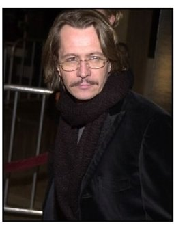 Gary Oldman at the Panic Room premiere