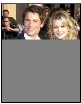 Rob Lowe and wife at the 2002 SAG Screen Actors Guild Awards