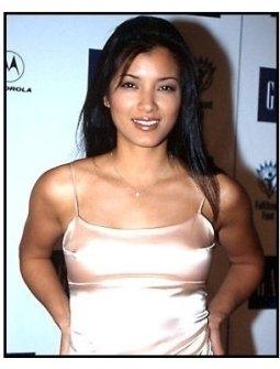 Kelly Hu at Back to School Night