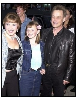 Mark Hamill with wife and daughter at the Jay and Silent Bob Strike Back premiere