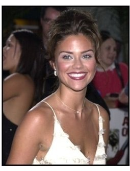 Susan Ward at the American Outlaws premiere