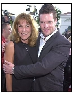 Matt Schulze and his mom at The Fast and the Furious premiere