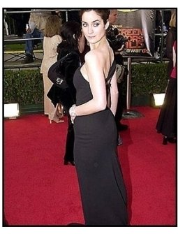 Carrie-Anne Moss at the 2001 SAG Screen Actors Guild Awards