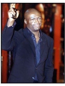 Seal at the Family Man premiere