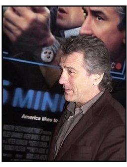 Robert De Niro at the 15 Minutes premiere