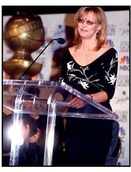 Christine Lahti at the 2001 Golden Globe nominations