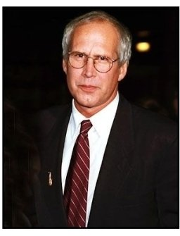 Chevy Chase at the Barbra Streisand Concert