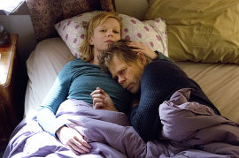 Shameless, Emily Bergl and William H. Macy