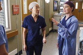 Grey's Anatomy, Sandra Oh and Ellen Pompeo