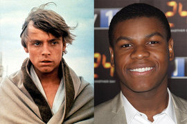 Star Wars Episode IV, Mark Hamill, John Boyega