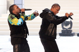 Kanye West and Jay-Z