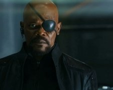 Sam Jackson Rocks a Muthaf-in Eye Patch in 'The Avengers'