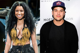 Nicki Minaj and Rob Kardashian