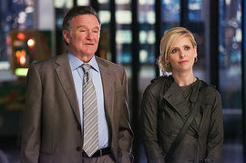 The Crazy Ones, Robin Williams and Sarah Michelle Gellar