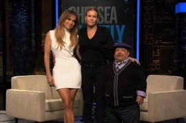 Chelsea Handler and Jennifer Lopez