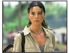 """Tears of the Sun"" Movie Still:  Monica Bellucci"