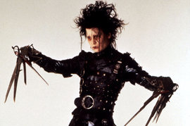 Edward Scissorhands, Johnny Depp