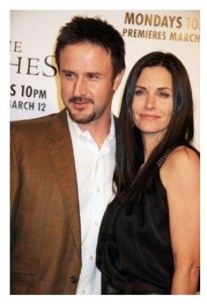 David Arquette and Courteney Cox