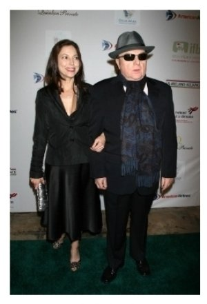 Michelle Rocca and Van Morrison