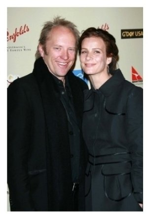 Rachel Griffiths and husband Andrew