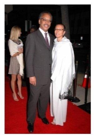 Bruce S. Gordon and wife Tawana