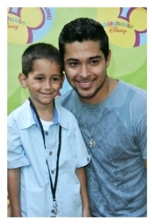 Wilmer Valderrama and his brother Christian
