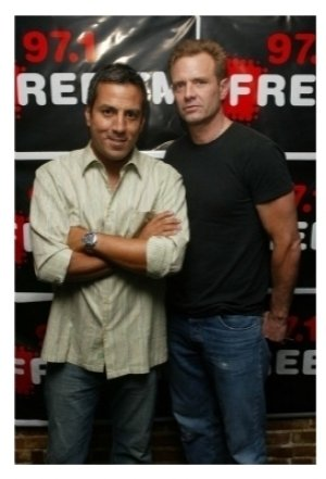 Leo Quinones and Michael Biehn