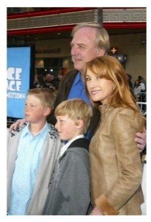 James Keach and Jane Seymour with family