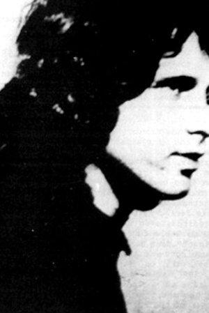 Jim Morrison's mugshot after his arrest for indecent exposure