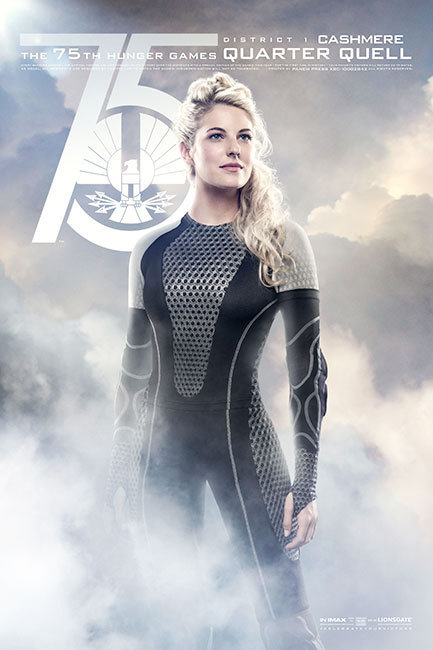 The Hunger Games: Catching Fire, Cashmere