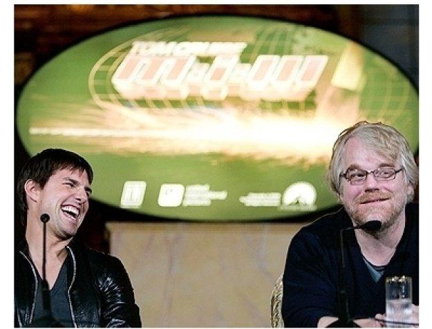 Tom Cruise and Phillip Seymor Hoffman
