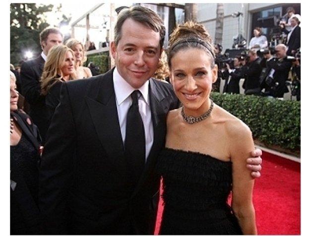 63rd Golden Globes Red Carpet Photos: Matthew Broderick and Sarah Jessica Parker