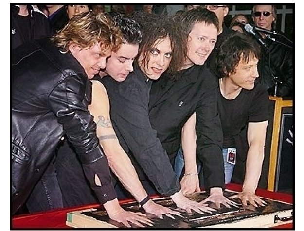 """The Cure"" Inducted Into Hollywood's Rockwalk"