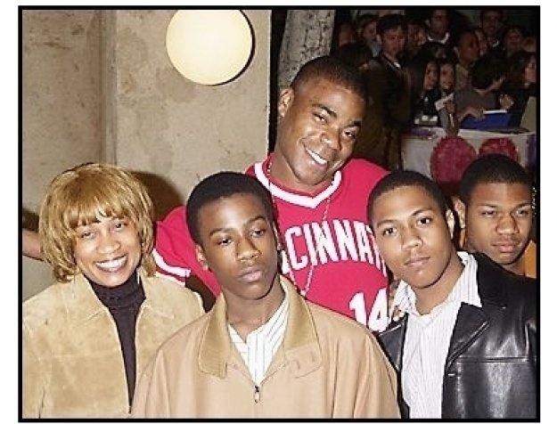 """Tracy Morgan and family at """"The Haunted Mansion"""" Premiere"""