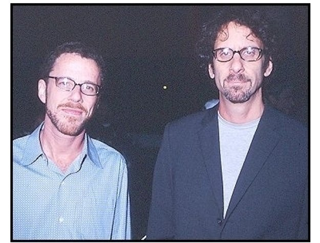 """Joel and Ethan Coen at the """"Intolerable Cruelty"""" premiere"""