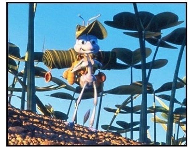 """""""A Bug's Life""""  Movie Still: Flik"""