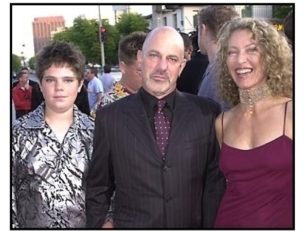 Rob Cohen and family at The Fast and the Furious premiere